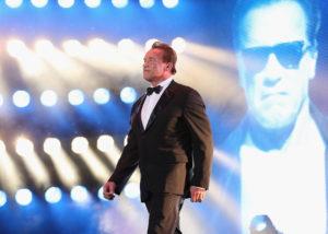 Celebrity Arnold Schwarzenegger GQ CLY Communication