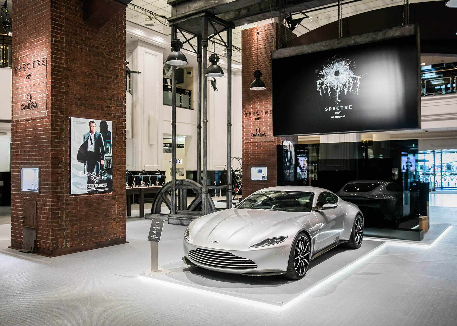 OMEGA James Bond SPECTRE Event Experiences