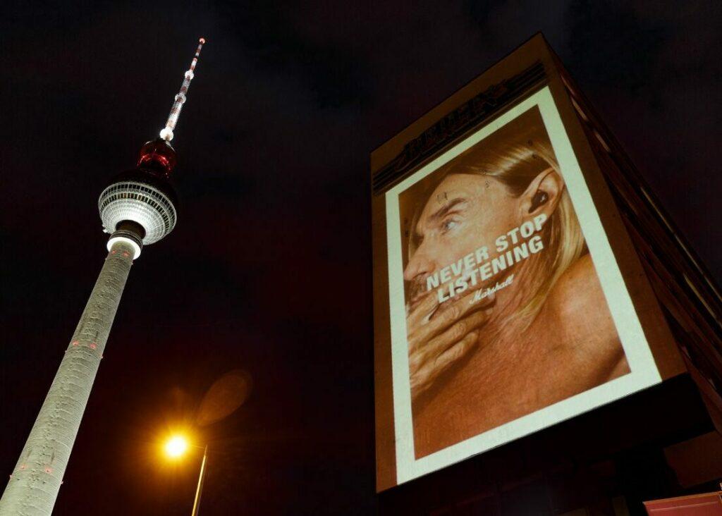 Marshall Berlin Takeover #NeverStopListening